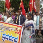 CPI(M) stages protest