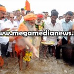 Fishermen community offer Samudra Puja at Tannirbavi