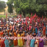 Beedi Workers protest