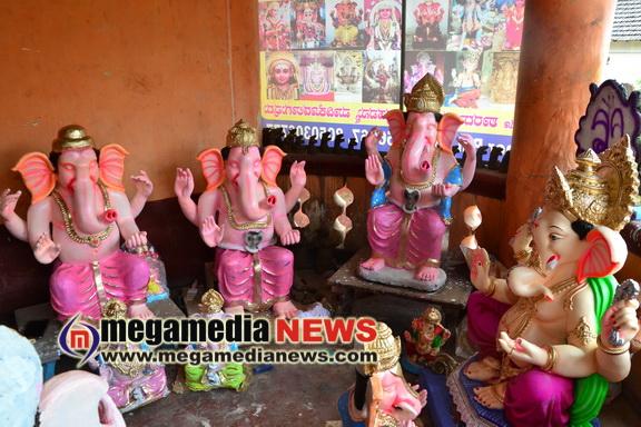 Ganesha Idol preparation