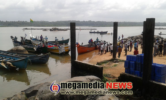 Manjeshwara fishing port construction work is gaining speed