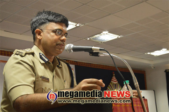 Guest Talk by Mangaluru commissioner M Chandrashekar