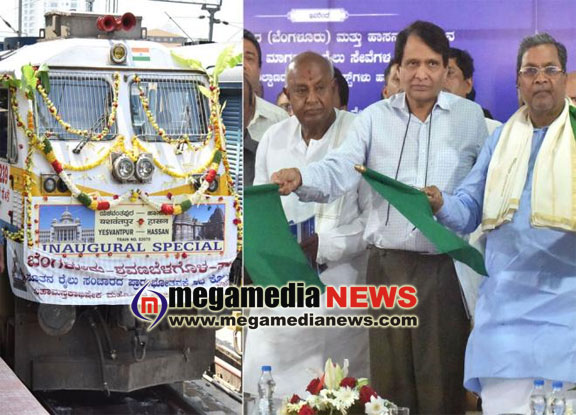 Sadananda Gowda skips Bengaluru-Hassan new line inaugural ceremony