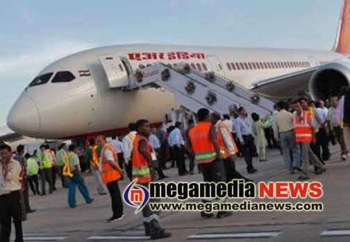 Air India aircraft skidded over runway landing lights, 185