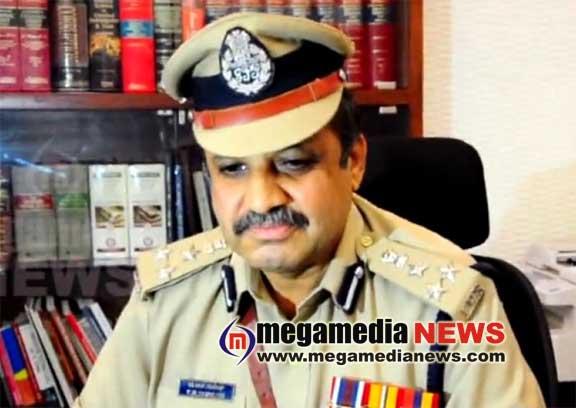 Police Commissioner TR Suresh
