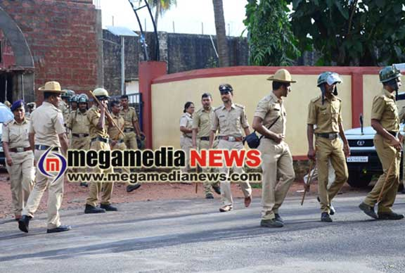 City police raid on district prison, size mobile phones, ganja