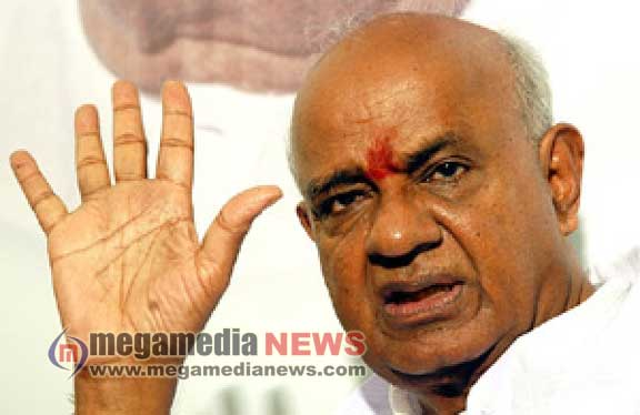 I've burnt my fingers supporting Congress: Deve Gowda
