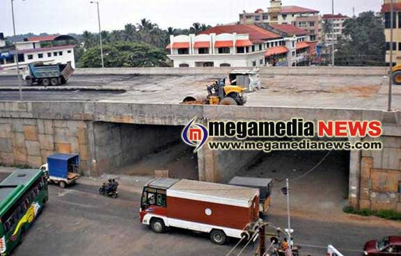 Underpass at Karavali Junction is expected to open by next month