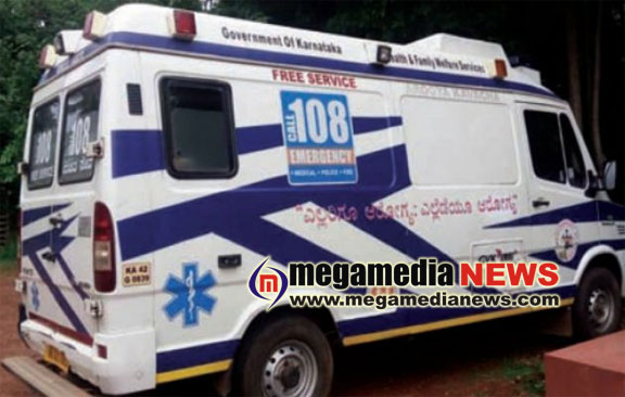 Baby boy delivered in a 108 ambulance