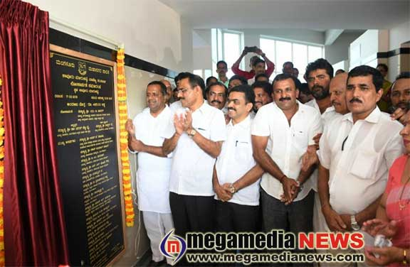 Rs 4.85 crore budget Kavoor Market Complex inaugurated