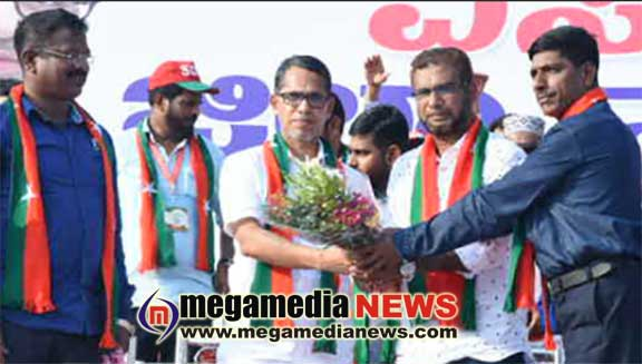 SDPI  announces its candidate for Dakshina Kannada constituency