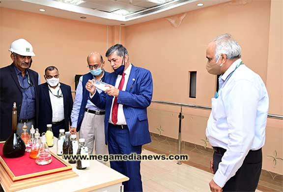 Chairman of ONGC Visits MRPL