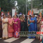 BJp-Mahila-Protest