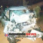 Car- truck collision