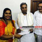 Kavitha meets CM